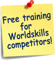 Free training for Worldskills competitors!