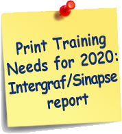 Print Training Needs for 2020 : Intergraf/Sinapse report